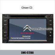 Citroen C3 завода стерео радио автомобильный DVD-плееру цифрове ТВ GPS
