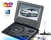 Портативный DVD+TV плеер pioneer 7.5 дюймовым экраном usb mmc новый